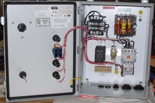 Submersible motor starter for Motor starter control panel